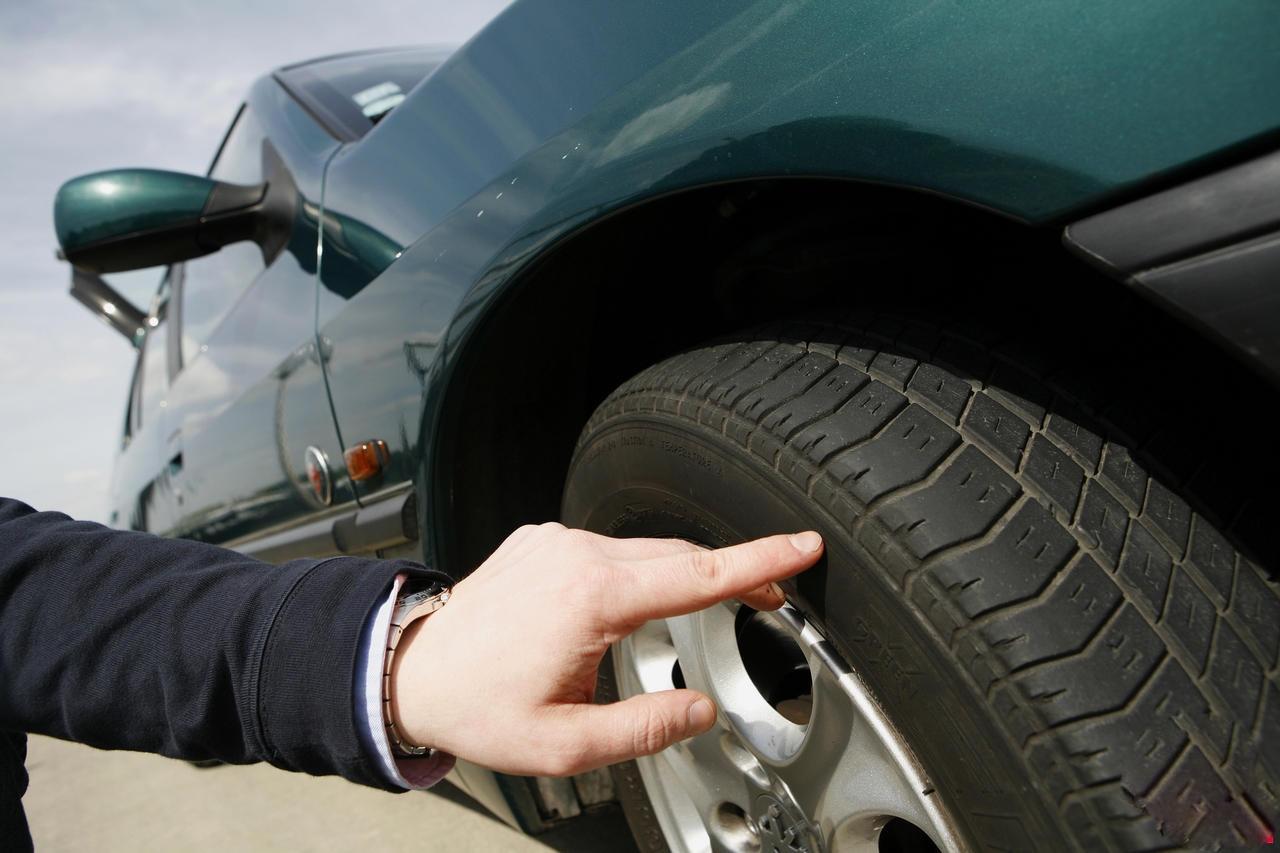 Contrôle pneus