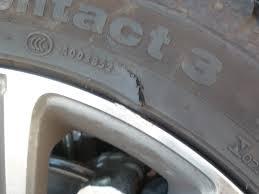 pneu coupé